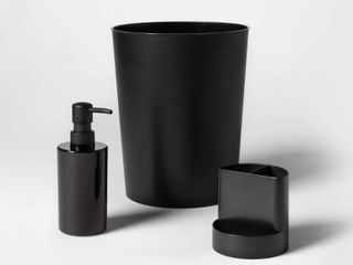 Bath Coordinates Bundle Black   Room Essentials