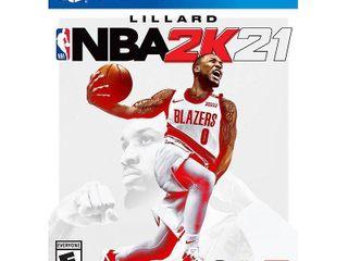 NBA 2K21 Standard Edition   PlayStation 4