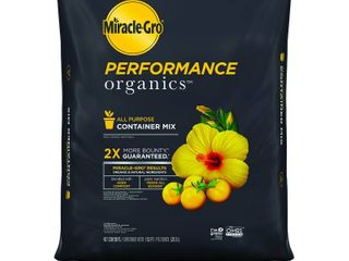 Miracle Gro Performance Organics All Purpose Container Mix  1 cu  ft