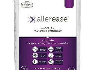 Ultimate Mattress Protector White  Twin    AllerEase