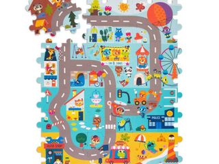 land of B  Foam Floor Puzzle   Whimsy land 12pc