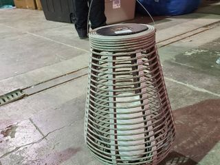 Outdoor Solar lantern   needs batteries