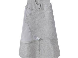 HAlO Sleepsack 100  Cotton Swaddle Heather Gray S