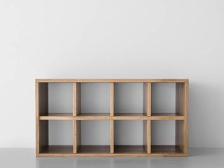 Two Shelf Horizontal Cube Natural   Made By Design