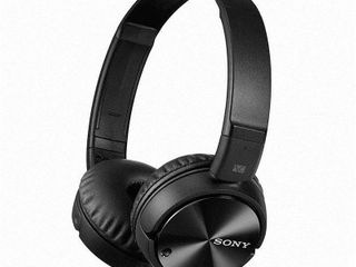 Sony   Noise Canceling Wired On Ear Headphones   Black