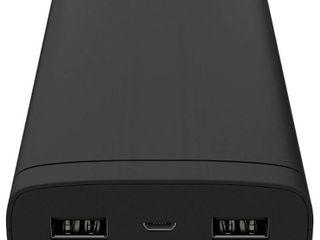 Just Wireless 16500mAh 2 Port Power Bank   Black
