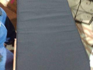 Sunbrella Canvas Black Seat Cushion