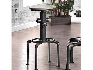 Furniture Of America Foskey Fire Hydrant Style Round Swivel Bar Stool Set Of 2