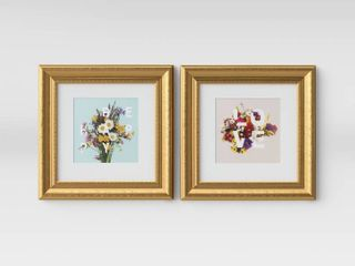 Set of 1  12  x 12  love and Be Happy Framed Wall Print   Opalhouse