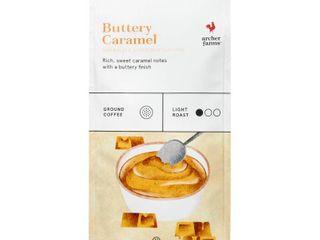 Set of 10 bags   Buttery Caramel light Roast Ground Coffee   12oz   Archer Farms
