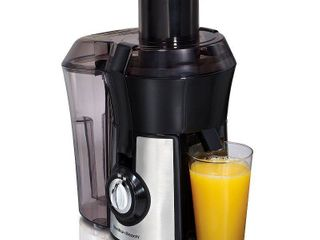 Hamilton Beach Big Mouth Pro Juice Extractor   Stainless 67608   powers on