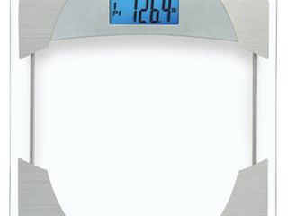 Digital Bathroom Scale with Weight Tracker Clear   Taylor