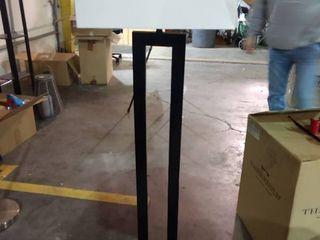 Floor lamp w Black Wood   No Power Cord