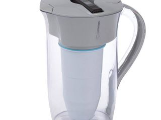 ZeroWater 8 Cup Round Water Pitcher   Free Water Quality Meter