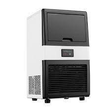 Ainfox Freestanding Ice Maker Machine Makes 40 Pounds Ice  Retail 249 49 white
