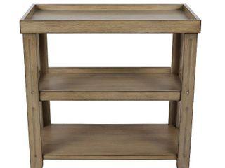 Trace Three Shelf Table  Retail 103 49