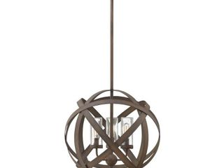 Hinkley Carson 3 light Outdoor Chandelier in Vintage Iron  Retail 649 00