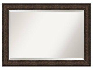 Ridge Bronze Bathroom Vanity Wall Mirror  Retail 215 99