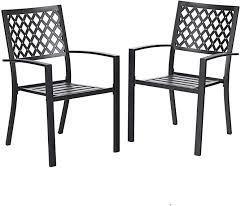phi villa set of 2 chairs black