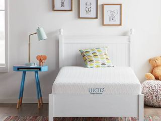 lUCID Comfort Collection 6 inch Gel Memory Foam Mattress only Retail 139 99