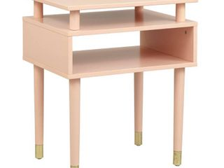 Margo End Table Blush Pink   Buylateral