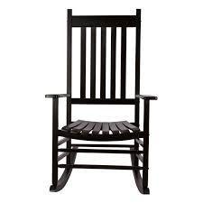 Porch   Den Steeplechase Porch Rocker Chair  Retail 134 99 black