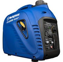 Westinghouse iGen2200 Super Quiet Portable Inverter Generator   1800 Rated Watts and 2200 Peak Watts   Gas Powered   CARB Compliant