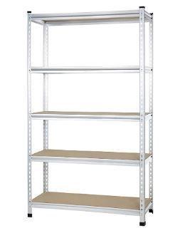 Amazonbasics Medium Duty Shelving Double post Press Board Shelf