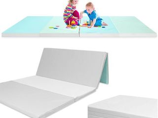 Folding   Reversible   Non Slip Waterproof Baby and Toddler Activity Play Mat Gym