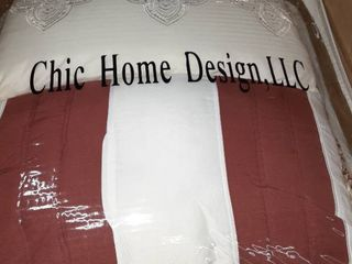 Chic Home Design 10pc Comforter Set Queen