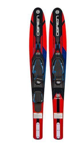 O Brien Vortex Red Combo Skis w  X 7 Bindings 2021