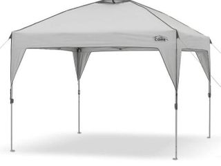 Core 10  x 10  Instant Shelter Pop Up Canopy Tent with Wheeled Carry Bag