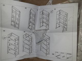 Foldable Bookcase