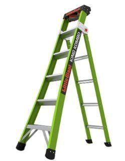 little Giant ladders  King Kombo  Professional  Fiberglass