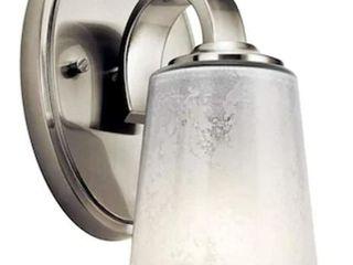 Kichler Brushed Nickel Cylinder Vanity light