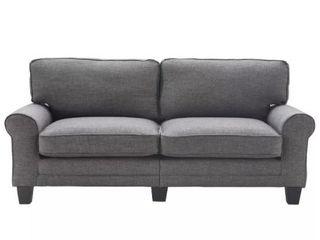 78  Copenhagen Sofa Dark Gray   Serta