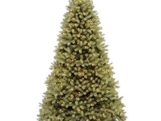 National Tree  Feel Real  Down Swept Douglas Fir Hinged Tree with 1000 low Voltage Dual lED lights