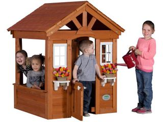 Columbus Play House in Brown Finish
