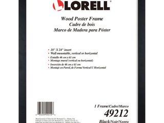lorell Wide Frame  Black
