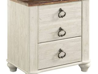 Willowton Nightstand Two Tone   Signature Design by Ashley