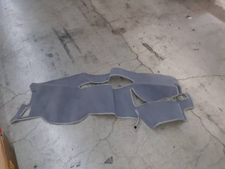 custom tailored dashboard covers ploycarpet gray