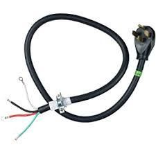 stove black power cord