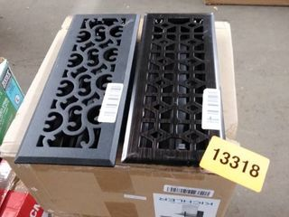 heater vent covers 2 pc