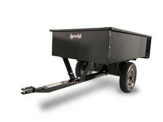 Agri Fab 45 0101 750 Pound Max Utility Tow Behind Dump Cart  Black