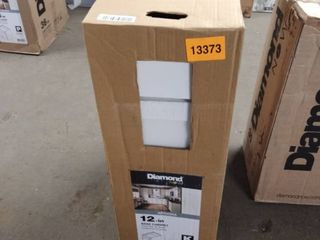 Arcadia 12 in W X 35 in H X 23 75 in D White Door And Drawer Base Cabinet