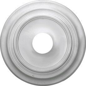 19 1 2  OD x 3 1 2 ID x 1 5 8 P Traditional Ceiling Medallion  Primed