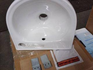 upc sink white