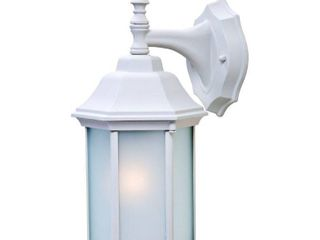 Alico lighting 5182TW FR Acclaim lighting Textured White Finished Outdoor Sconce with Frosted Glass Shades 2 boxes