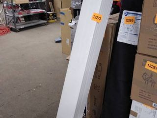 pvc white fence planks 7 pc 5 ft
