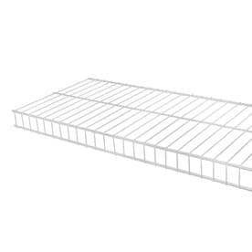 Rubbermaid FG3N3600WHT 6  X 12  White linen Wire Shelf 3 pc
